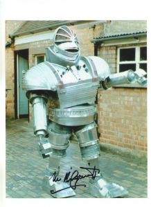Michael Kilgarriff fGiant Robot from Doctor Who